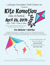 Kite Kite Komotion 2014 Flyer thumbnail